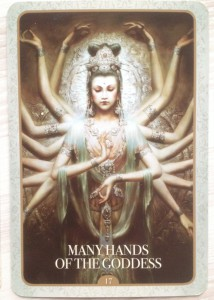 Kuan Yin - Many hands of the Goddess
