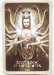 Kuan Yin - Many hands of the Goddess