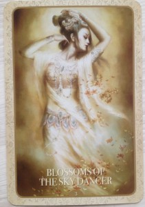 Kuan Yin - Blossoms of the sky dancer