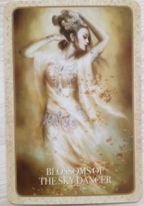 Kuan Yin - Blossoms of the sky dancer