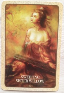 Kuan Yin - Sweeping sister willow